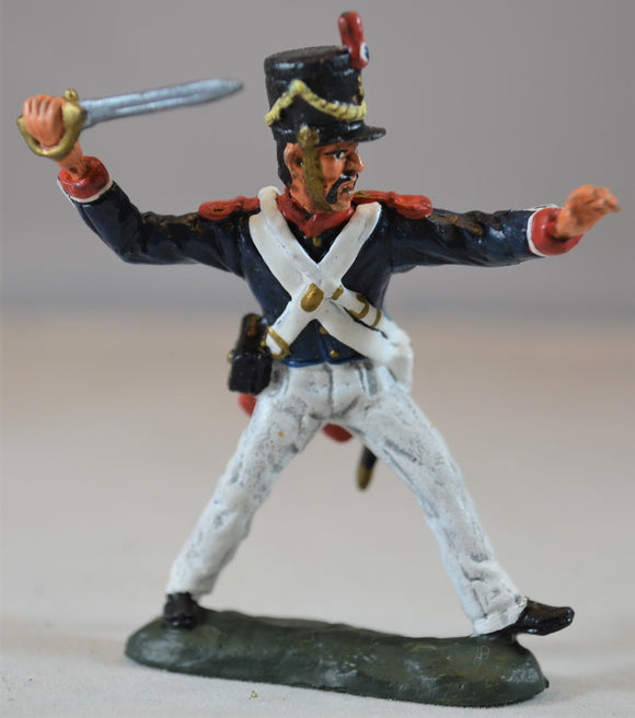 TSSD Painted Figure 2 Hand to Hand Alamo Mexican Set #25