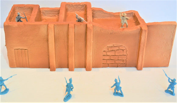 Toy Soldiers of San Diego TSSD Alamo Chapel Building Left Side TS102