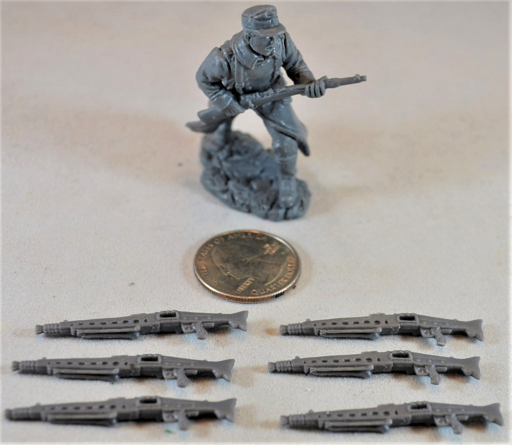 TSSD WWII German MG42 Machine Gun - Set of 6