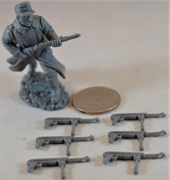 TSSD WWII German MP40 Sub-Machine Gun - set of 6