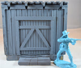 TSSD Unpainted Shed with Shed Roof TS156UN