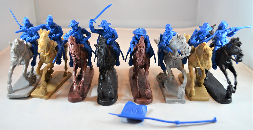 TSSD US Cavalry with Horses Set #10C  Blue