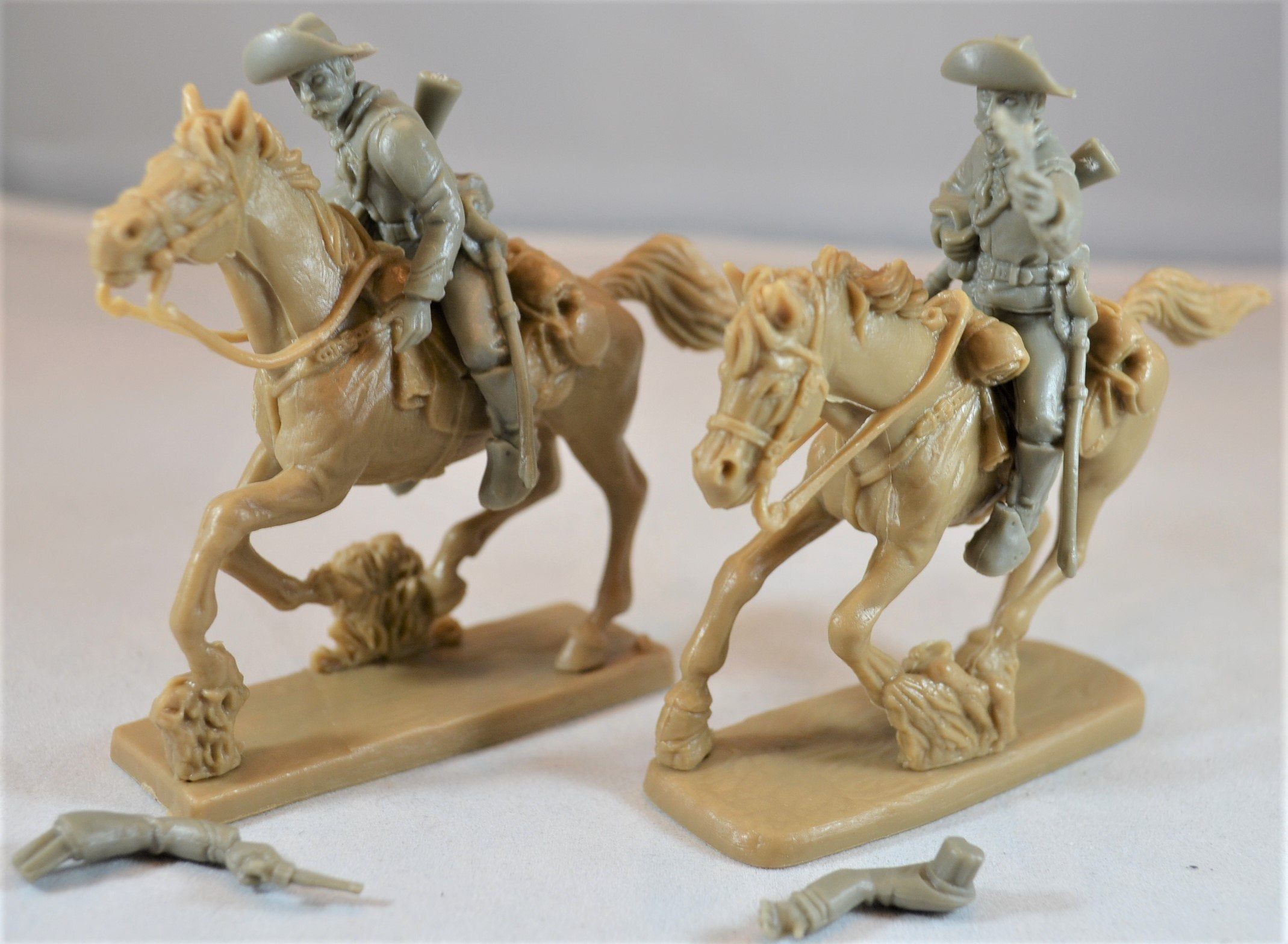 TSSD Cavalry Horse Soldiers Set #24A Gray