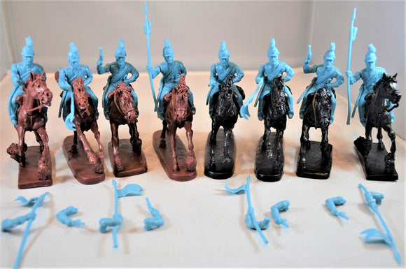 TSSD Mexican Lancer Cavalry Set #26A Blue