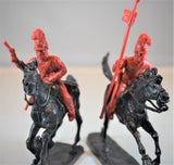 TSSD Mexican Lancer Cavalry Set #26B Red