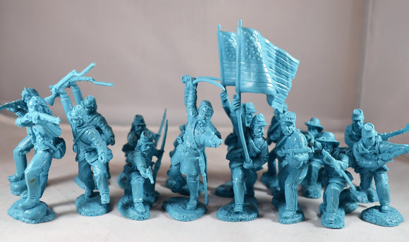TSSD Union Charging Infantry Light Blue Set #2A