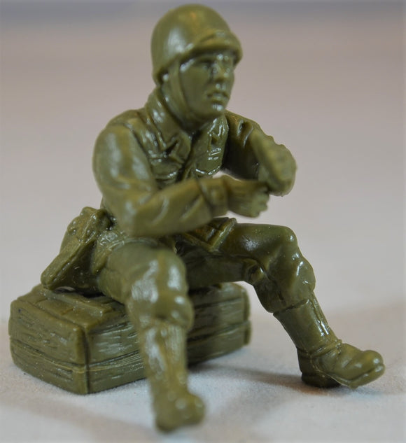 TSSD WWII US Seated Machine Gun Figure