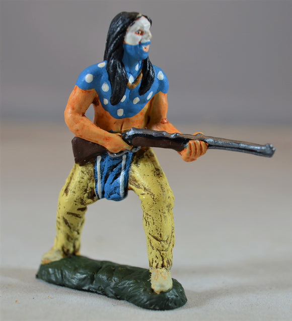 TSSD Painted Crazy Horse Sioux Indian Figure