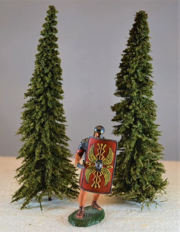 TSSD Painted Pine Trees - Set of 2