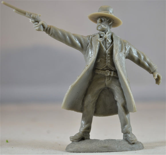 TSSD Tombstone Cowboys Wyatt Earp Figure from Set #21 Series 1