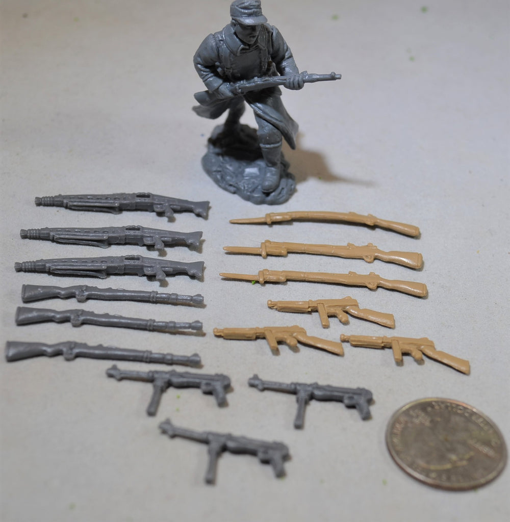 TSSD WWII US and German Weapons Set - Set of 15