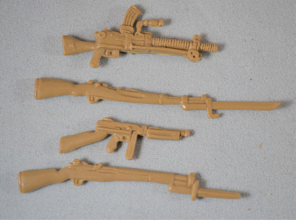 TSSD WWII US and Japanese Weapons Set