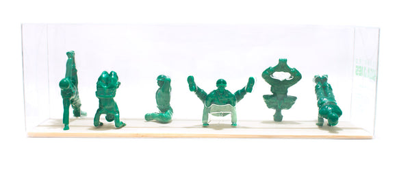 Yoga Joes Advanced Series Green Army Men in Yoga Poses