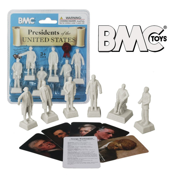 BMC PRESIDENTS OF THE UNITED STATES SERIES 1 - Set of 6