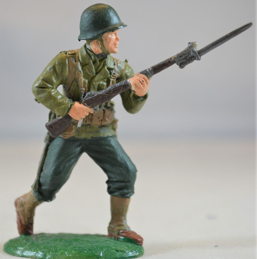 Expeditionary Force WWII Painted US Infantry Figure 2