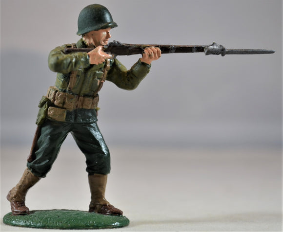 Expeditionary Force WWII Painted US Infantry Figure 3