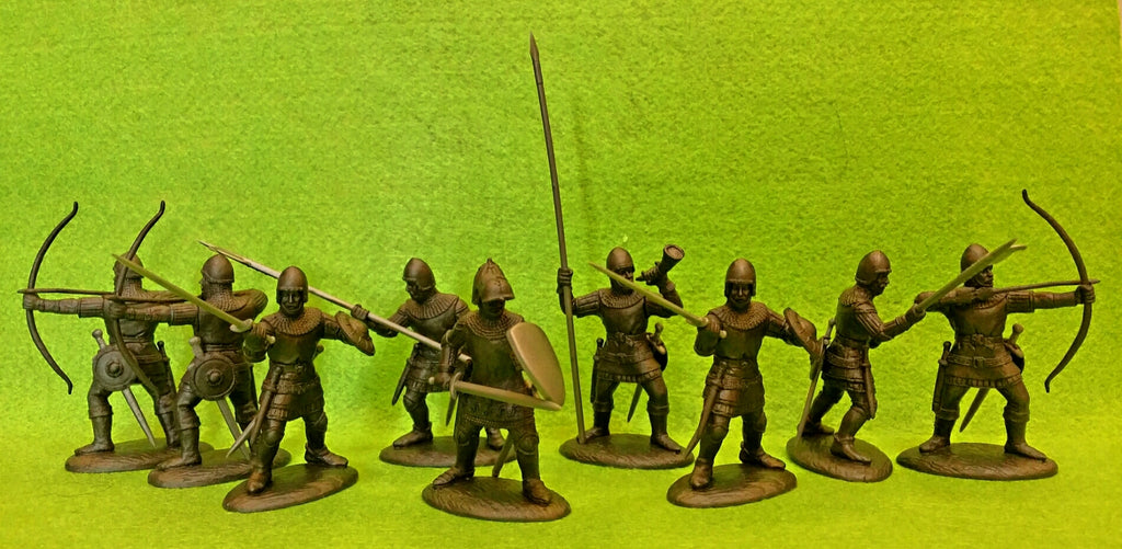 Expeditionary Force Wars of the Middle Ages English Archers and Foot Soldiers