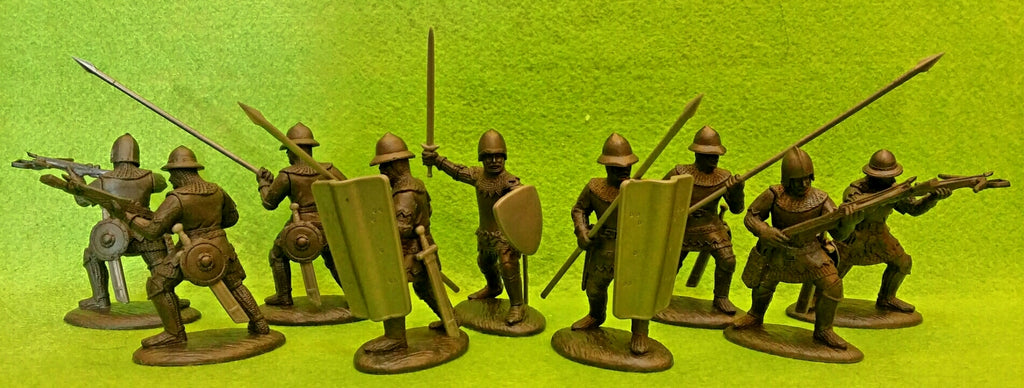 Expeditionary Force Wars of the Middle Ages English Crossbowmen and Spearmen (Pavisiers)