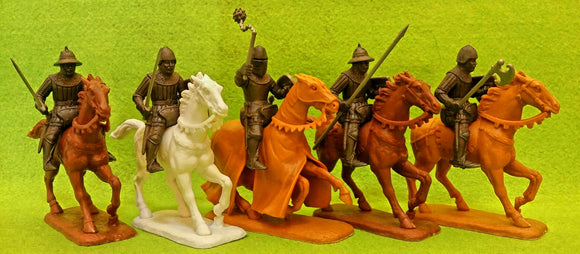 Expeditionary Force Wars of the Middle Ages English  Hobilars and Mounted Sergeants Cavalry