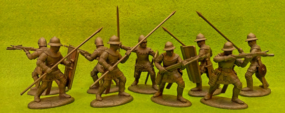 Expeditionary Force Wars of the Middle Ages French Crossbowmen and Spearmen