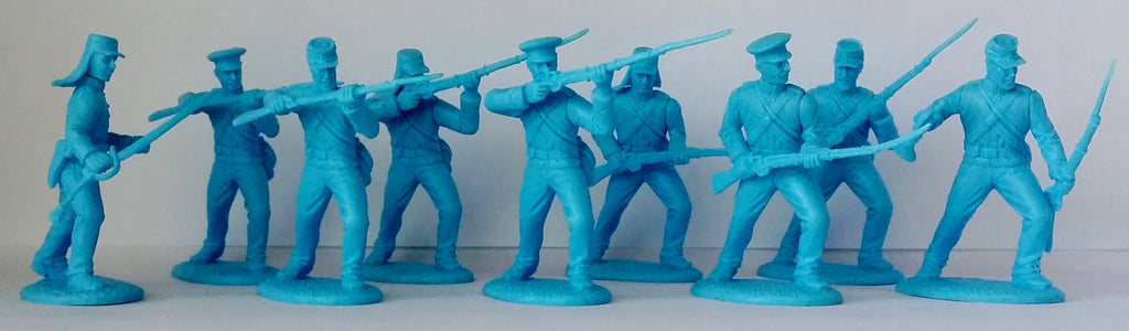 Expeditionary Force American Civil War Union Militia Infantry