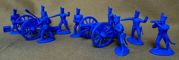 Expeditionary Force Napoleonic Wars French Artillery Cannons and Crew