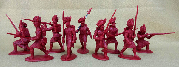Expeditionary Force Napoleonic Wars British Highlanders Infantry