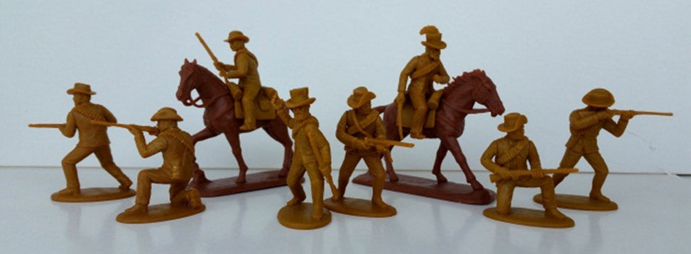 Expeditionary Force British Colonial Wars Natal Boer Volunteers Mounted and Dismounted