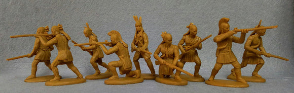 Expeditionary Force War of 1812 American Woodland Indians (Tecumseh)