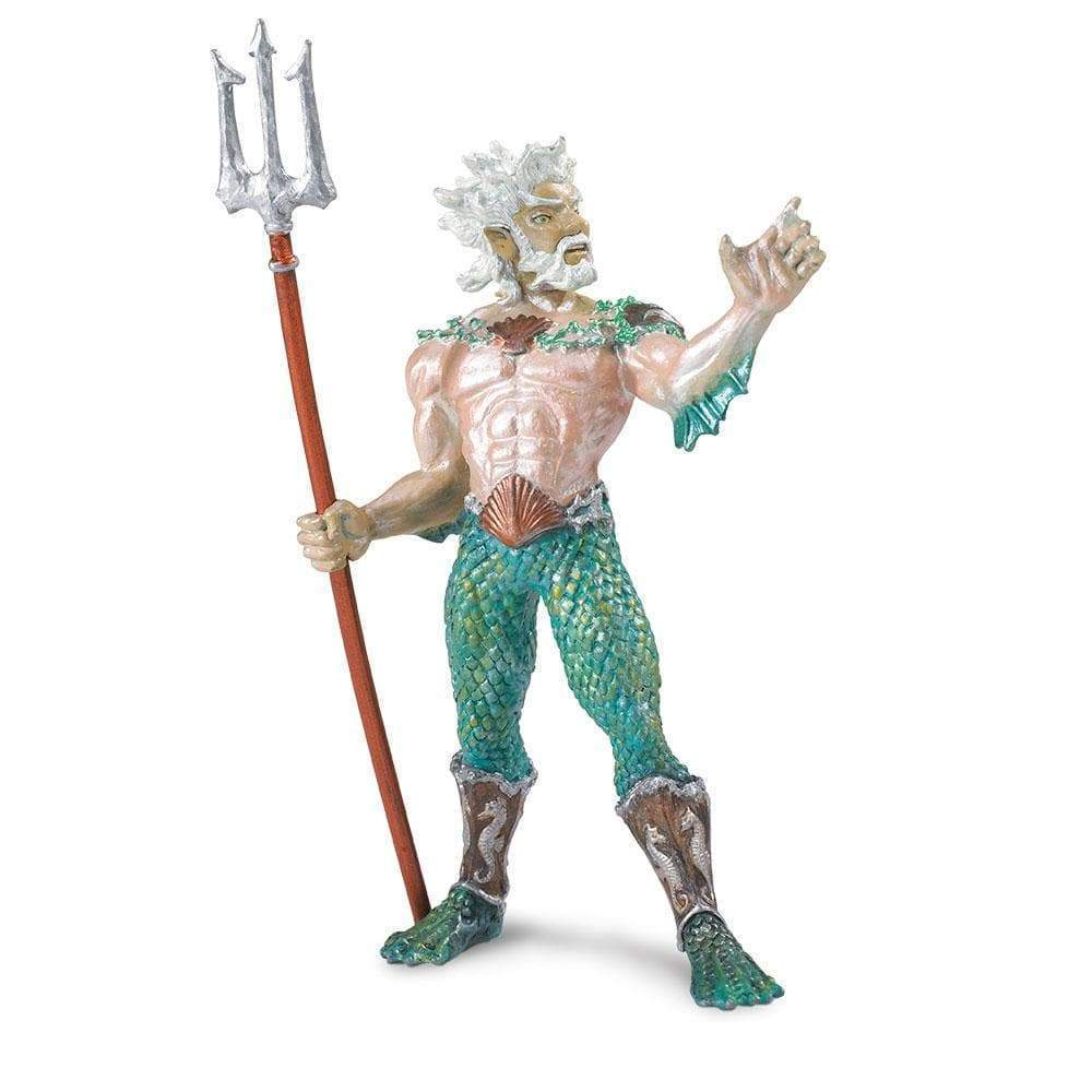 Safari Ltd. Painted Poseidon Figure Discontinued