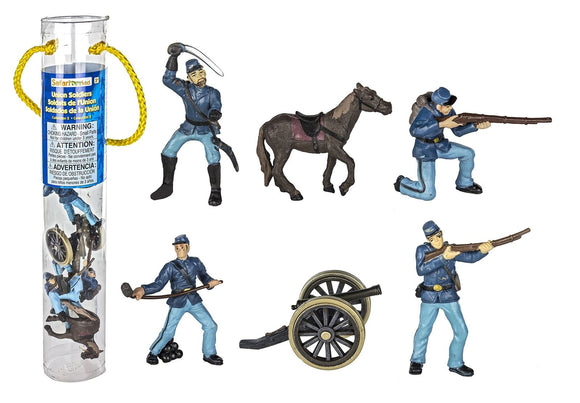 Safari, Ltd. Painted Civil War Union Soldiers Designer Toob Set 2