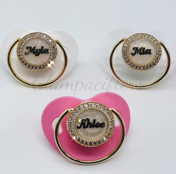 Personalized Name Pacifiers