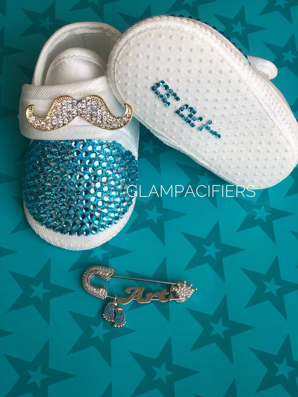 2 Piece Personalized Baby Boy Gift Set