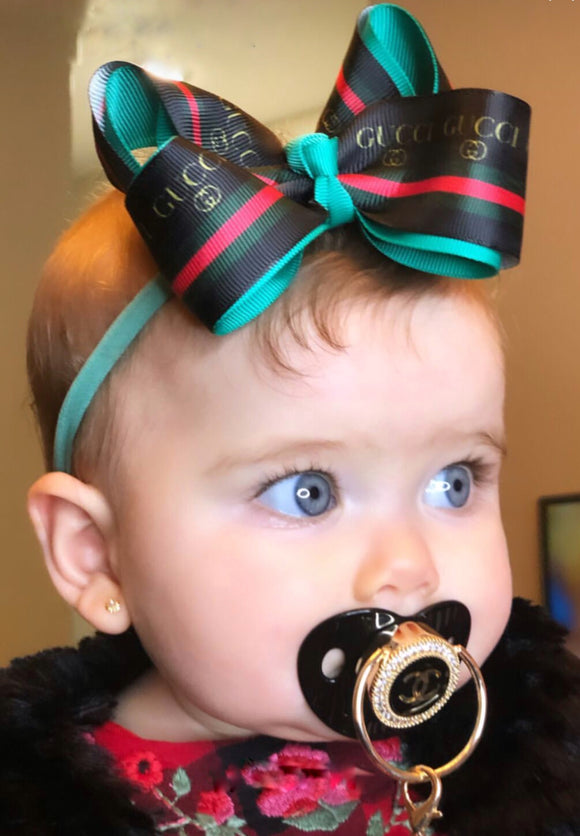 Designer Style Baby Pacifier