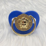Versace Style Pacifier in Various Colors
