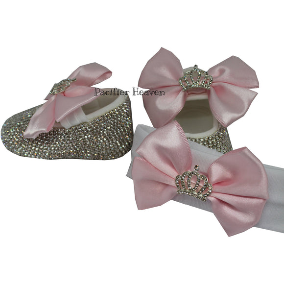 Crown Charm Shoes and HeadBand