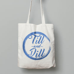 Tote Bag - Till and Dill logo