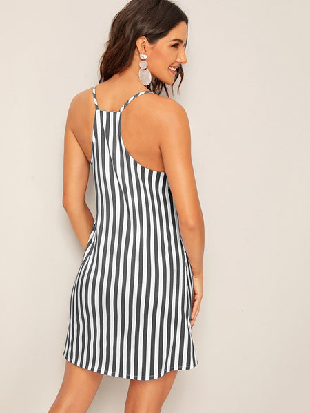 Striped Cami Dress - Luma Lyfe