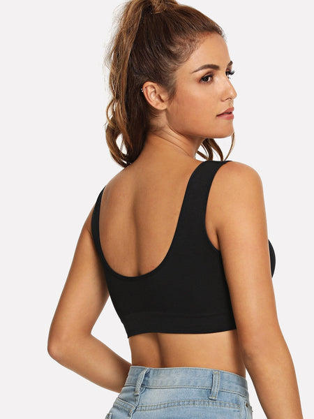 Plain Sports Bra - Luma Lyfe