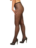 Dreamgirl One Size Black Barcelona Fishnet Stockings
