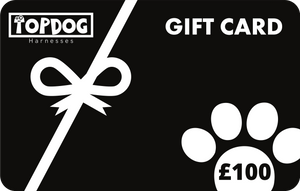 £100 Gift Card - TopDog Harnesses