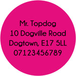 Butterfly - ID Tag - TopDog Harnesses