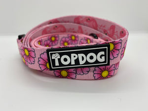 Matching Lead - PRETTY IN PINK - TopDog Harnesses