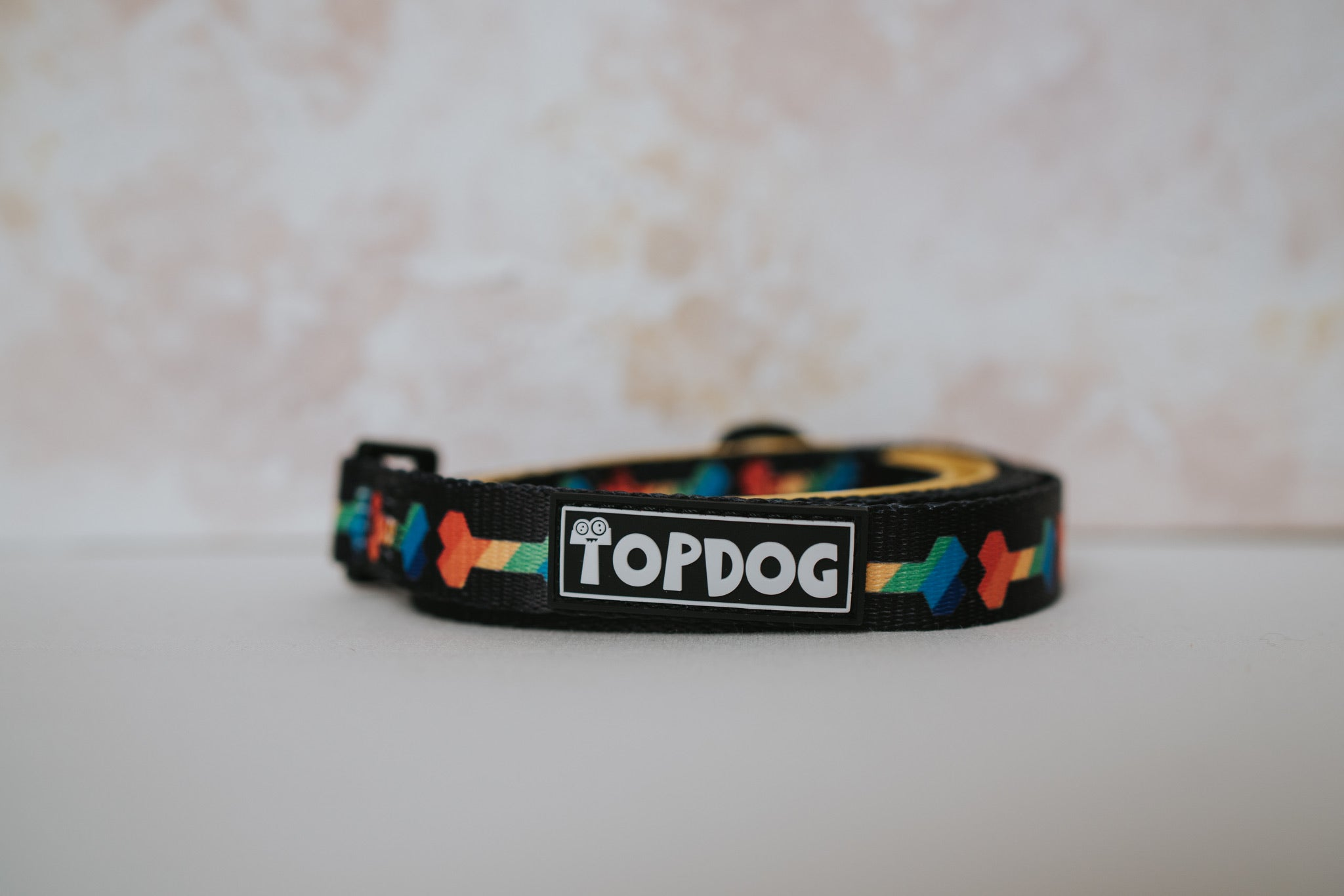 Matching Lead - RAINBONE - TopDog Harnesses