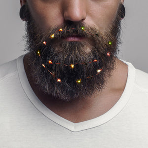 Beard Lights Are A Real Trend This Christmas