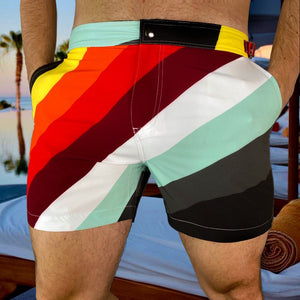 The Victor short by the High-End Mens Beachwear Brand KBAYO are the 2020 shorts