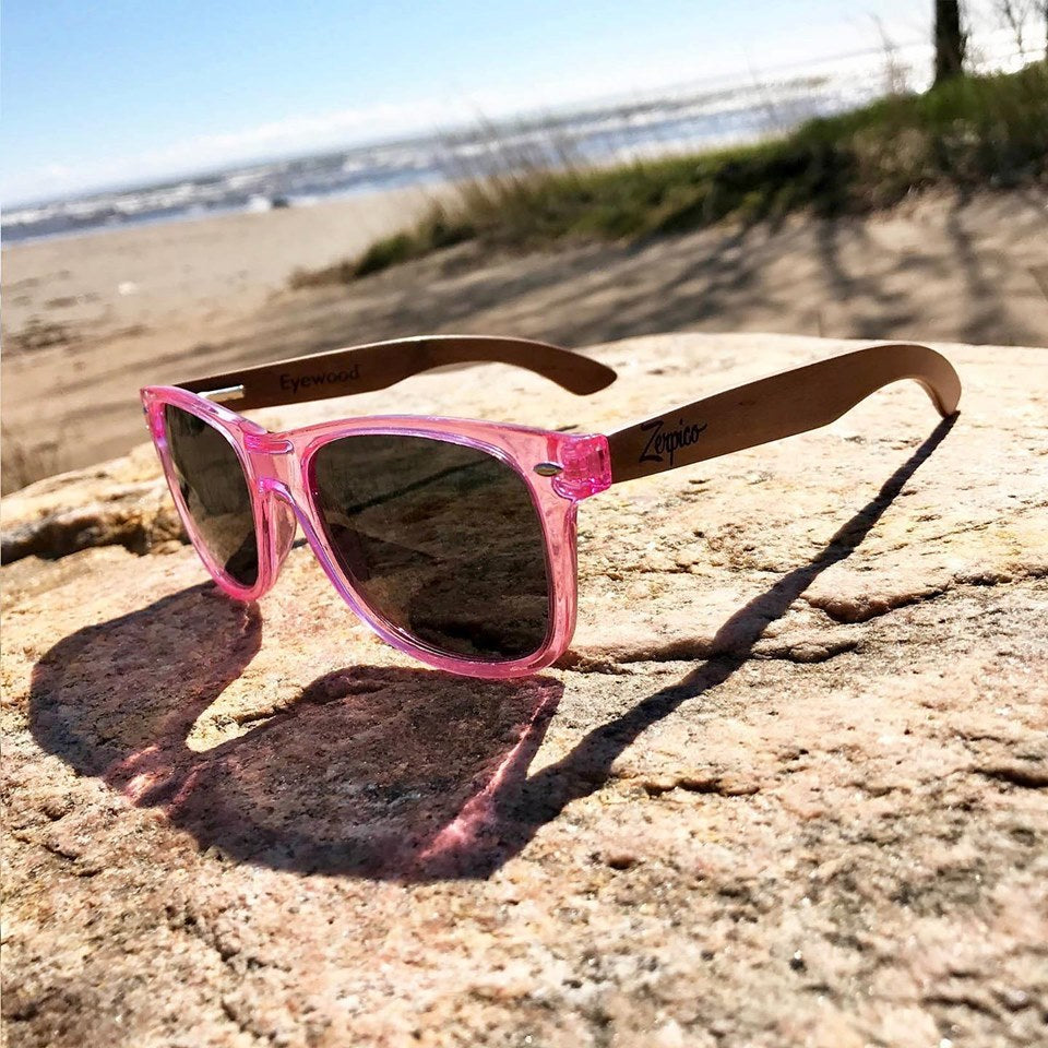 NEW ARRIVALS: Handmade wood sunglasses