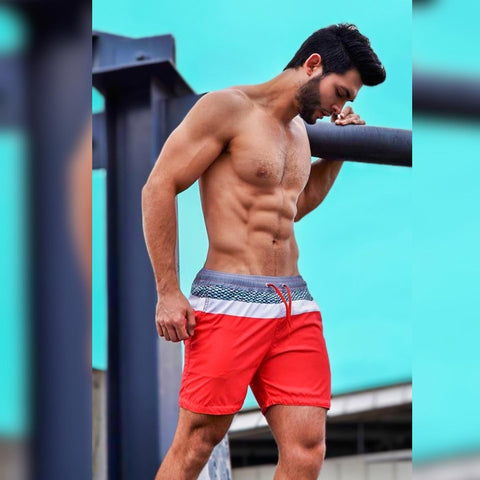 new BATTYSTA Reef Red Short Shorts - outfair.com the best mens swimwear