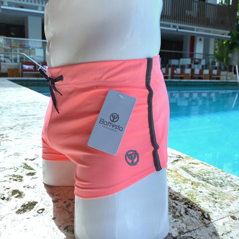 Commando Shorts Pink, outfair.com the best mens swimwear and underwear