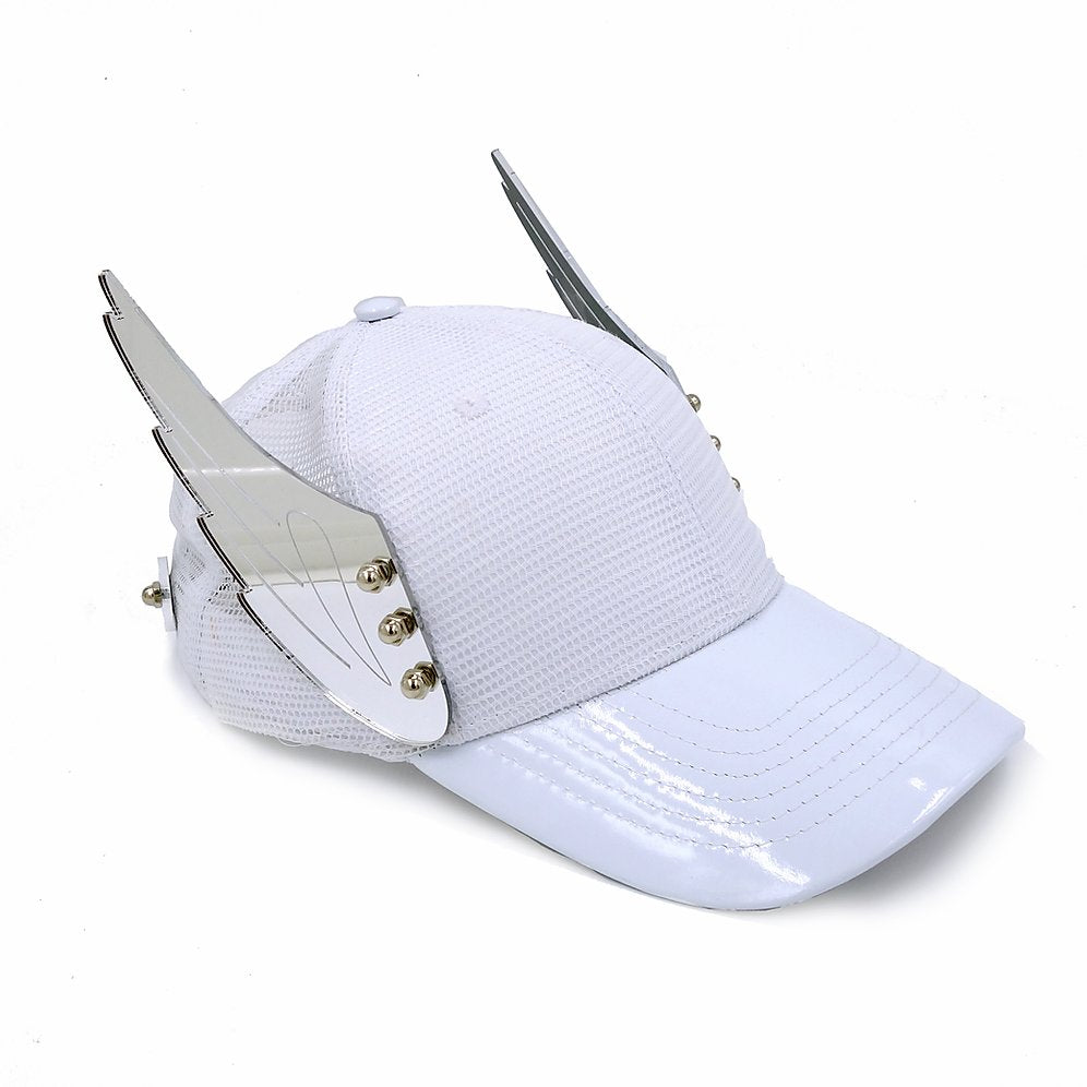 Mirror Wings White Hat